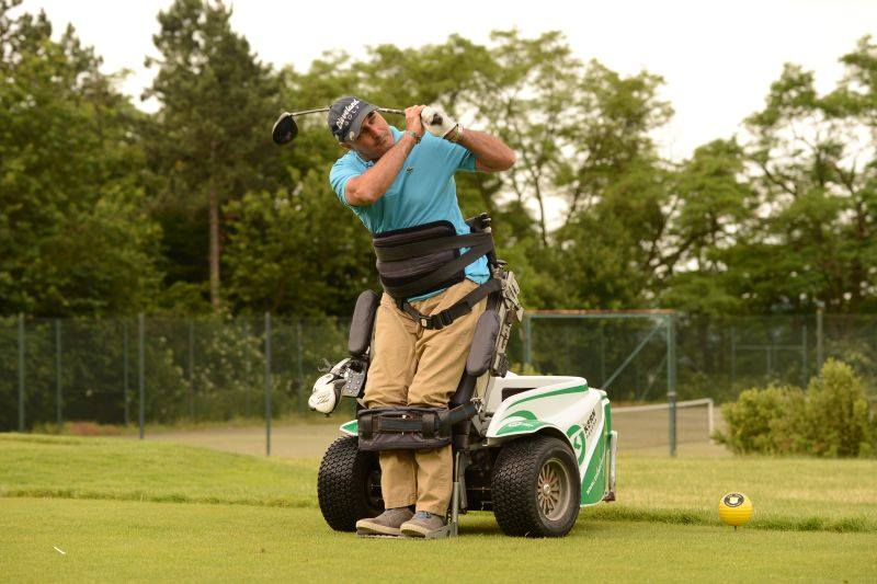 Golf adaptado Sebas Lorente